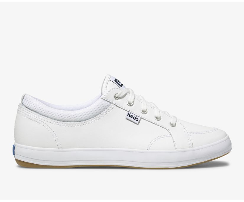 Center Leather, White, dynamic