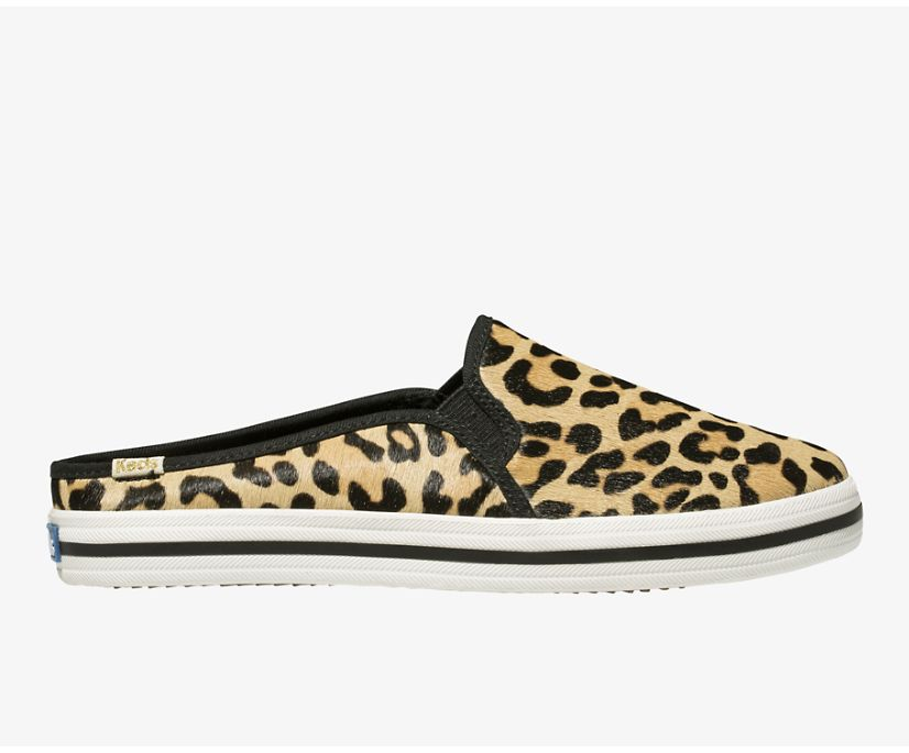 Keds x kate spade new york Double Decker Mule Leopard, Leopard, dynamic