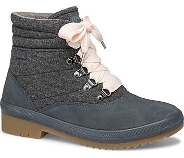 Cyber Camp Water-Resistant Boot w/ Thinsulate™, Blue Grey, dynamic