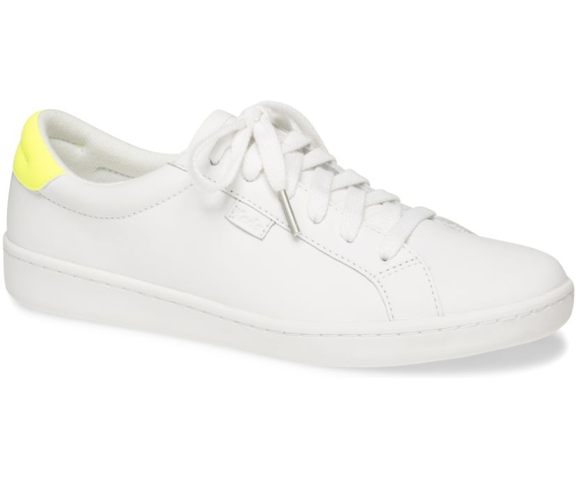 Ace Leather, White Yellow, dynamic
