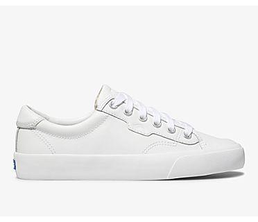 Crew Kick 75 Leather, White, dynamic
