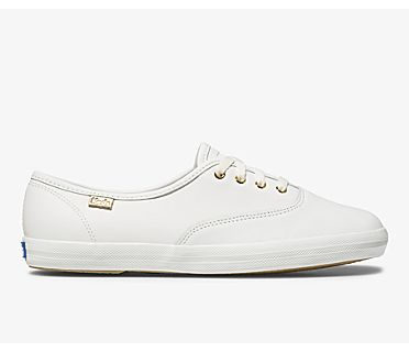 Champion Luxe Leather, White, dynamic