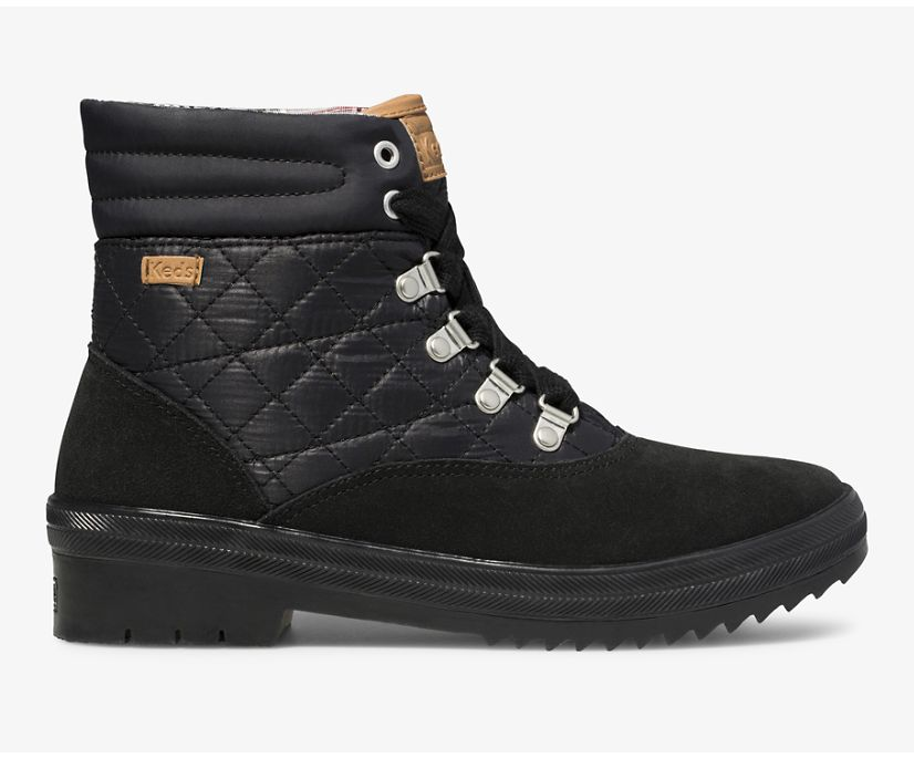 Camp Boot Water-Resistant Suede w/ Thinsulate™, Black, dynamic