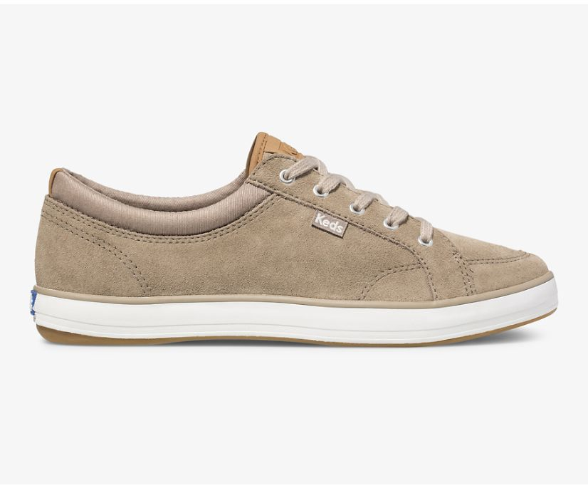 Center Suede, Taupe, dynamic