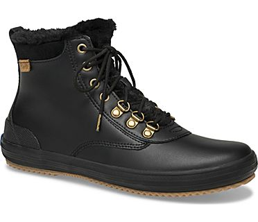 Scout Boot II Water-Resistant Leather w/ Thinsulate™, Black, dynamic