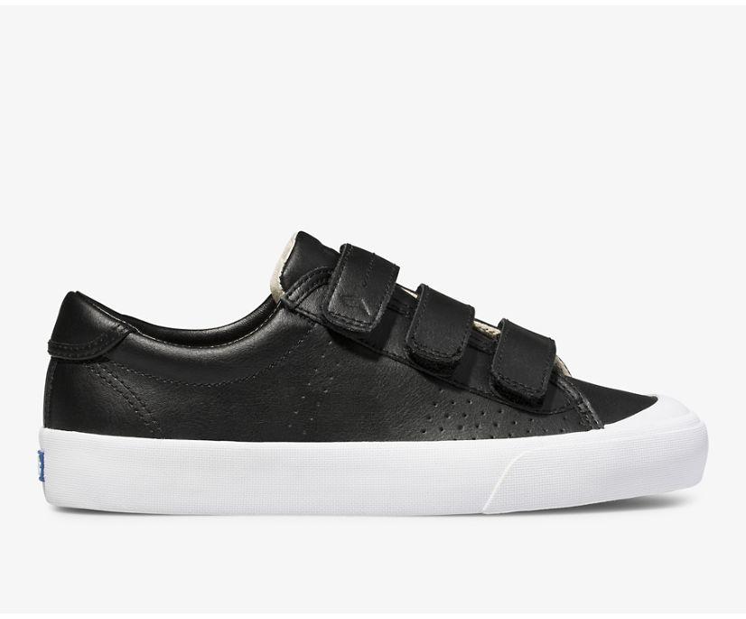 Crew Kick 75 V Leather, Black, dynamic