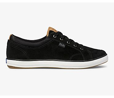 Center Suede, Black, dynamic