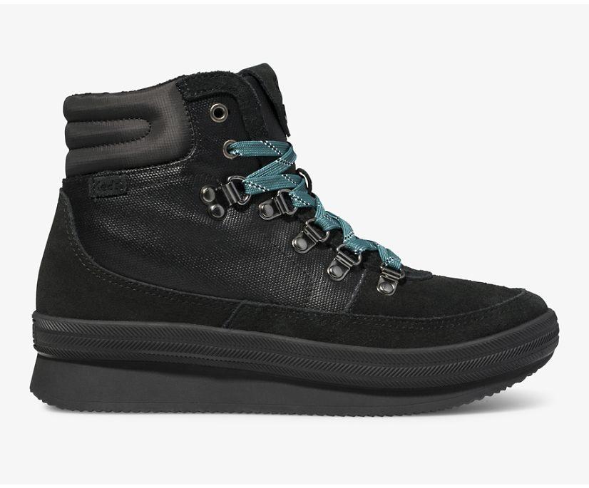 Midland Water-Resistant Boot, Black Black, dynamic