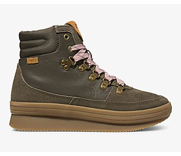 Midland Water-Resistant Boot, Bungee Cord Olive, dynamic