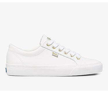 Jump Kick Leather, White Gold, dynamic