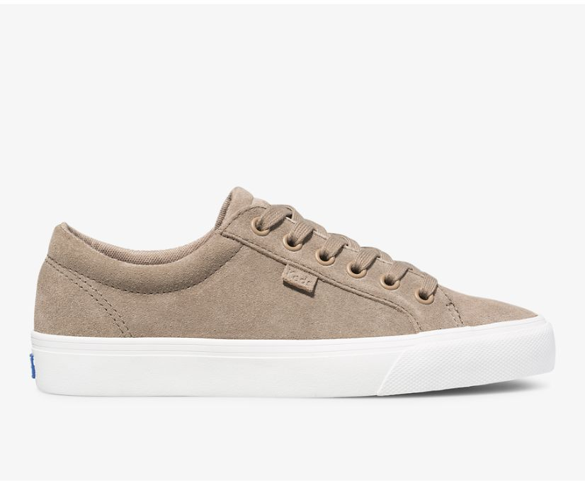 Jump Kick Suede, Taupe, dynamic