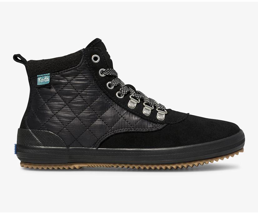 Scout Boot II Water-Resistant Suede, Black Black, dynamic