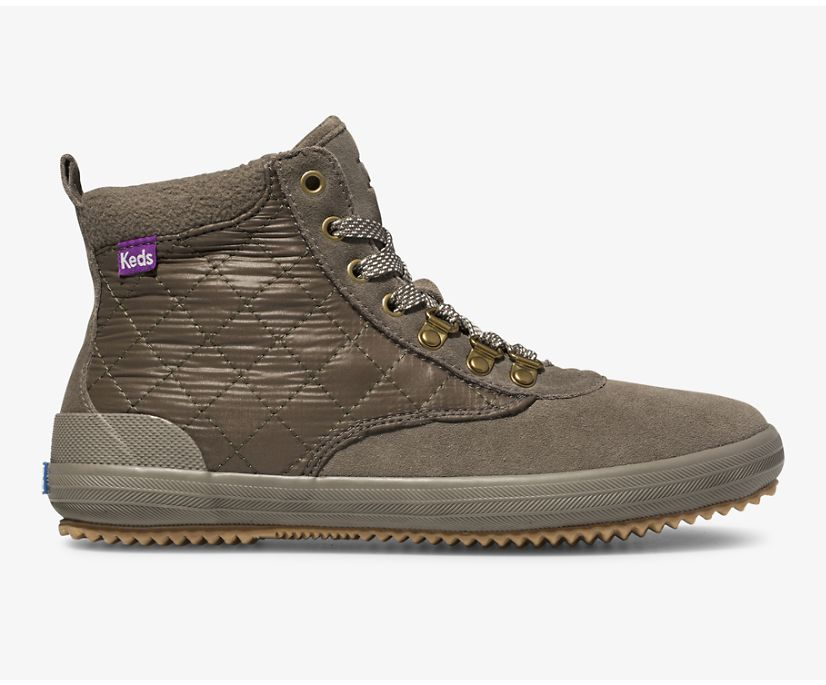 Scout Boot II Water-Resistant Suede, Bungee Cord Olive, dynamic