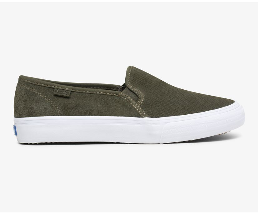 Double Decker Suede, Forest, dynamic
