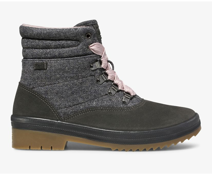 Camp Water-Resistant Boot w/ Thinsulate™, Charcoal, dynamic