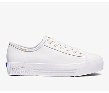Triple Kick AMP Leather, White, dynamic