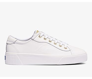 Crew Kick Alto Leather, White, dynamic