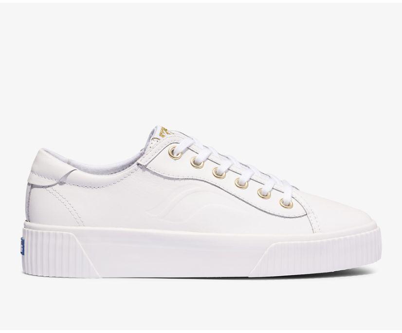 Crew Kick Alto Leather, White, dynamic