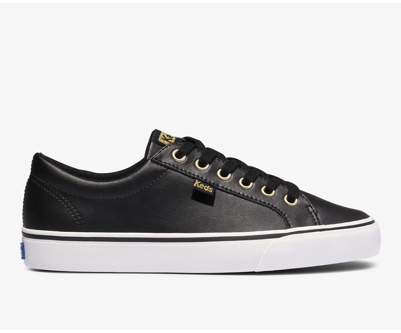 Jump Kick Leather, Black Gold, dynamic