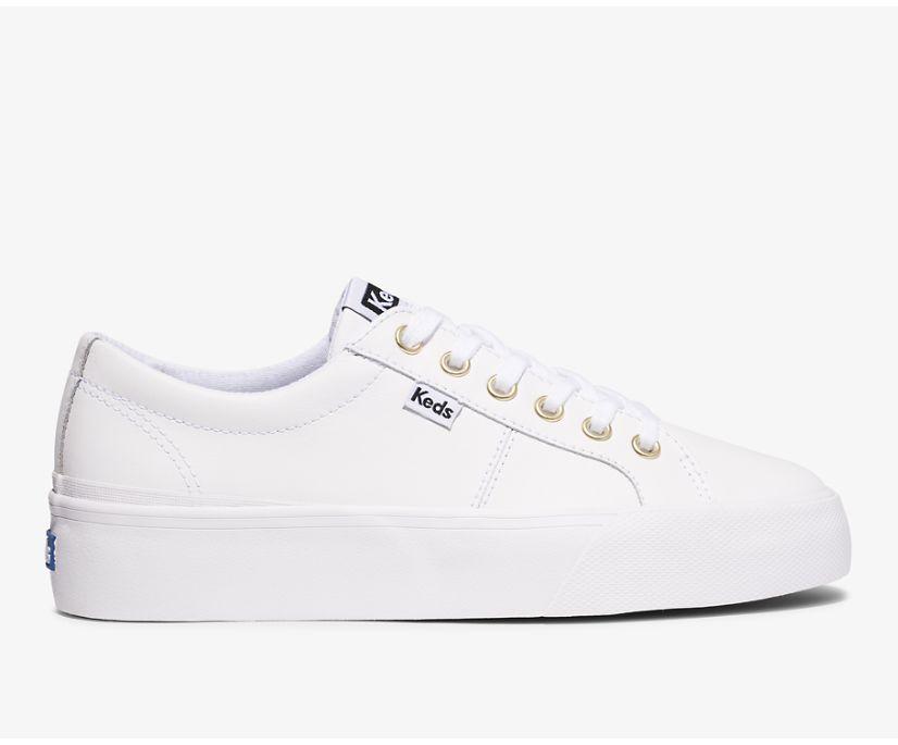 Jump Kick Duo Leather, White, dynamic