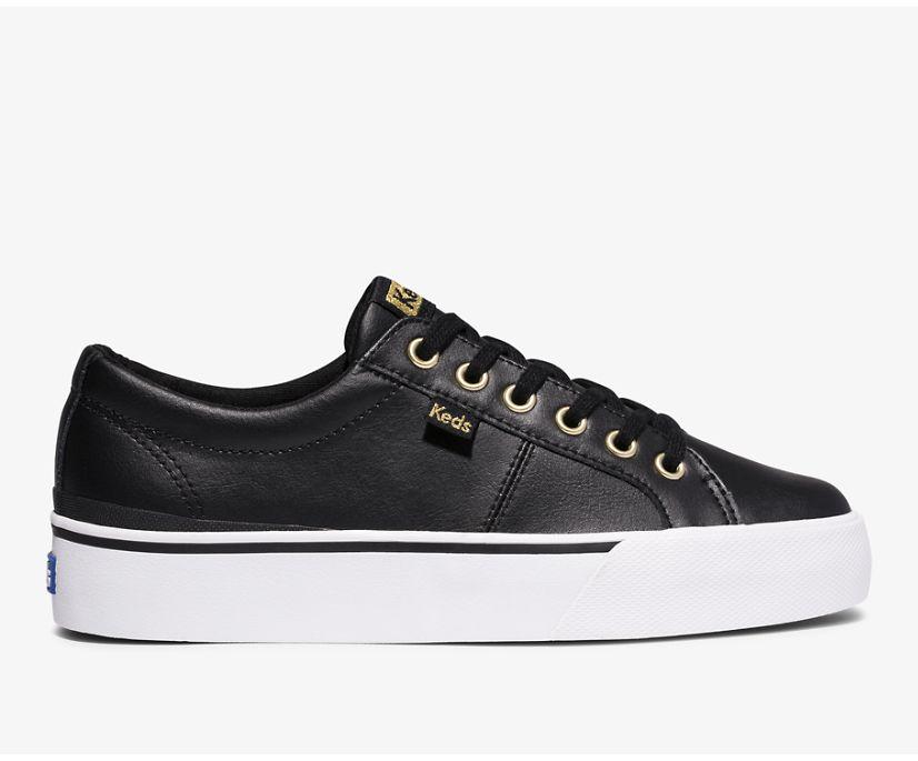 Jump Kick Duo Leather, Black, dynamic