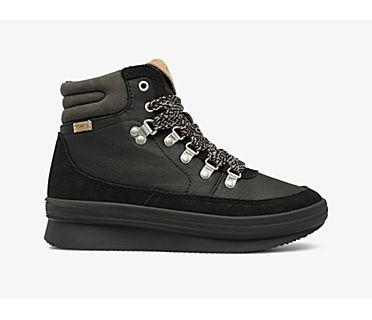 Midland Boot Suede & Splash Twill w/ Thinsulate™, Black, dynamic