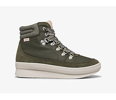 Midland Boot Suede & Splash Twill w/ Thinsulate™, Green, dynamic