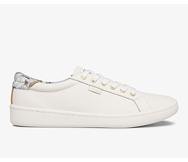 Keds x Rifle Paper Co. Ace Blue Fields, White Blue, dynamic