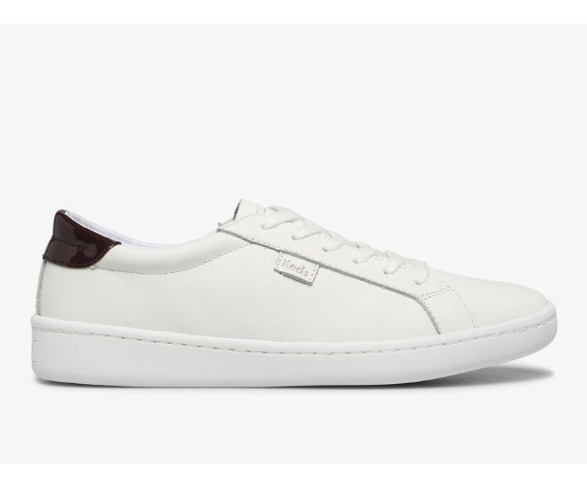 Ace Leather, White Burgundy, dynamic