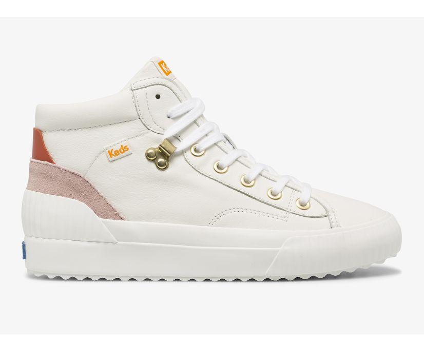 Demi Mid TRX Leather, White, dynamic
