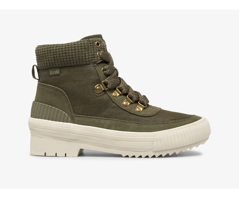 Fielder Boot Suede/Nylon w/ Thinsulate™, Olive, dynamic