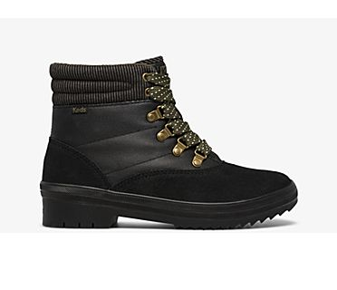 Camp Boot Suede & Splash Twill w/ Thinsulate™, Black, dynamic