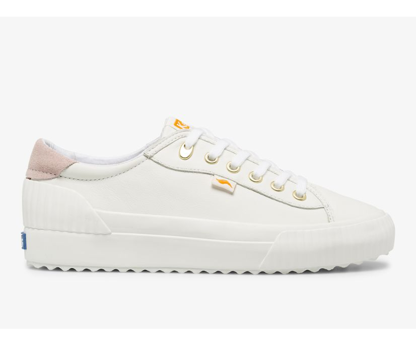 Demi TRX Leather, White, dynamic