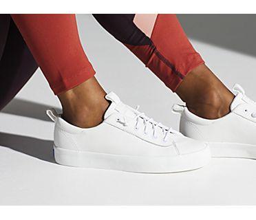 Kickback Leather, White, dynamic