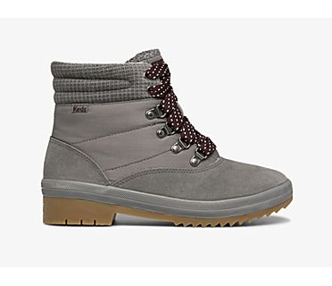 Camp Boot Suede w/ Thinsulate™, Charcoal, dynamic