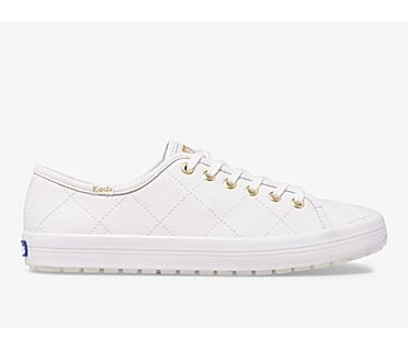 Kickstart TRX Quilted Leather, White, dynamic