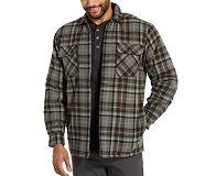 Marshall Shirt Jac, Smoke Plaid, dynamic