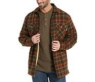Marshall Shirt Jac, Mahogany Plaid, dynamic