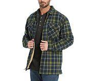 Marshall Shirt Jac, Indigo Plaid, dynamic