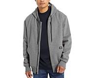 FR Fleece Zip Front Hoody, Ash, dynamic