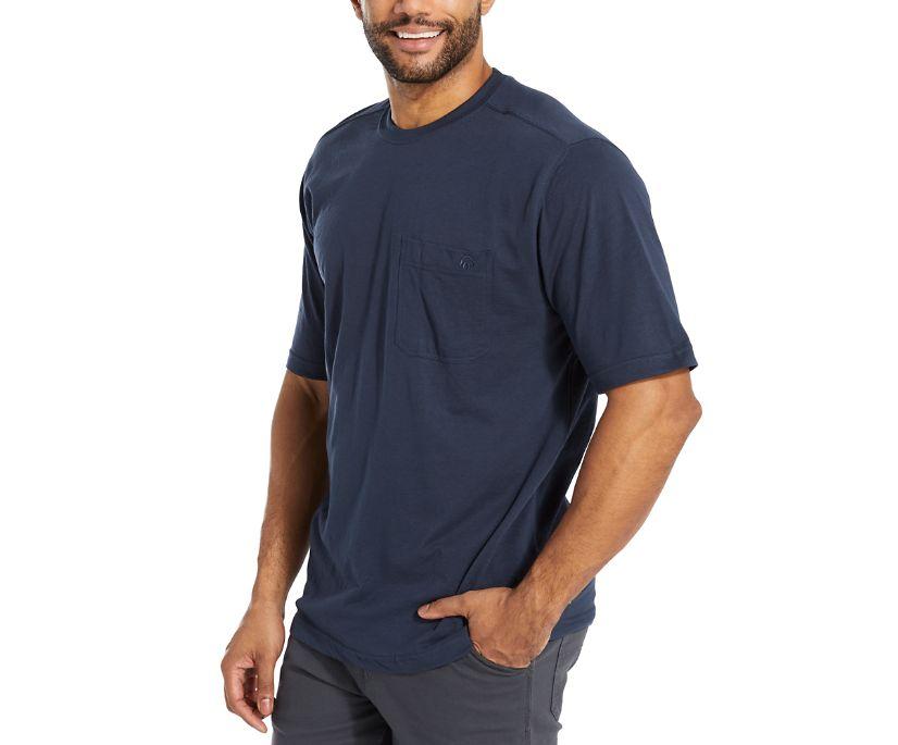 Knox Short Sleeve Tee, Navy, dynamic
