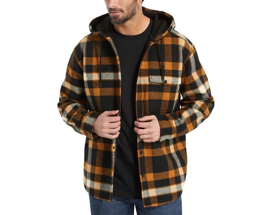 Bucksaw Bonded Shirt Jac, Cedar Plaid, dynamic