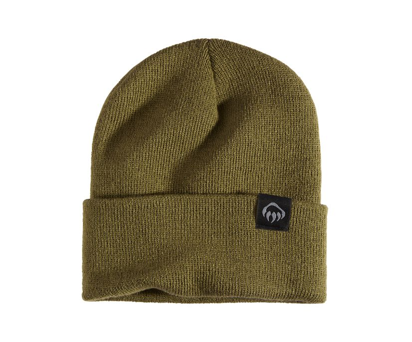 Knit Watch Cap, Field Green, dynamic