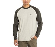 Brower Long Sleeve Tee, Blac Olive Heather, dynamic