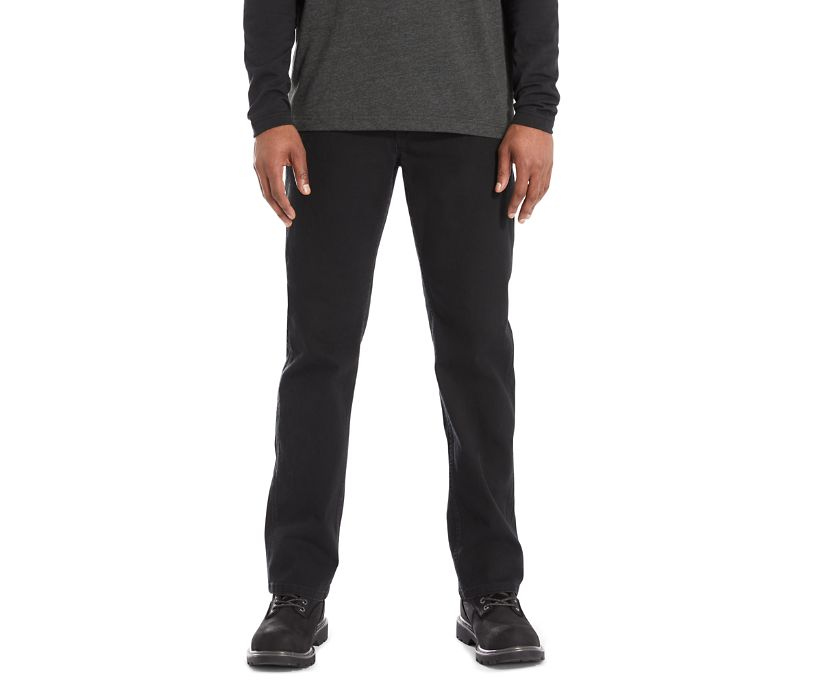 Modern Fit 5 Pocket Pant, Black, dynamic