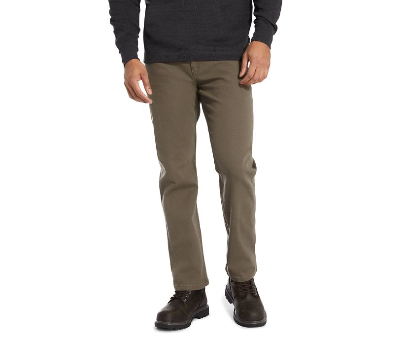 Modern Fit 5 Pocket Pant, Gravel, dynamic