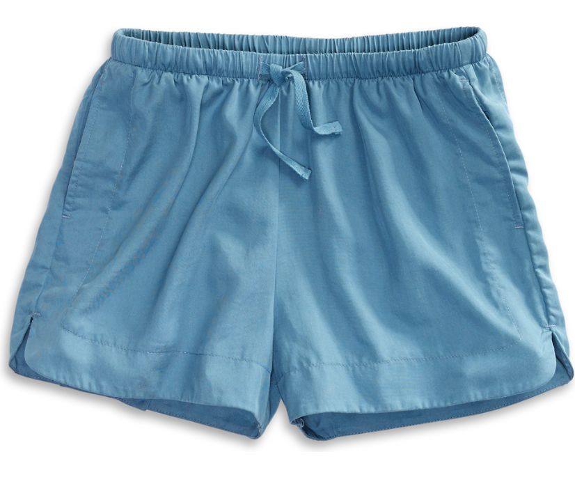 Pull-on Shorts, Blue, dynamic
