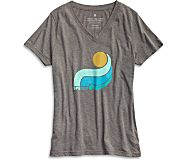 Ollie Wave T-Shirt, Grey Multi, dynamic