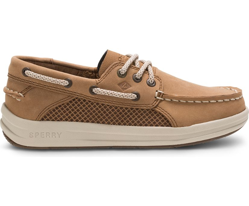 Gamefish Boat Shoe, Dark Tan, dynamic