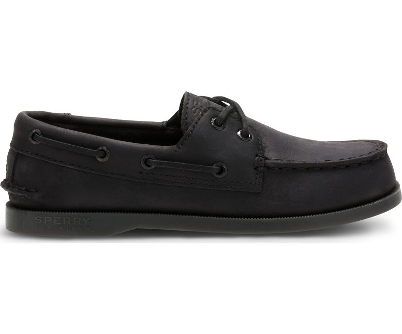 Authentic Original Boat Shoe, Black, dynamic